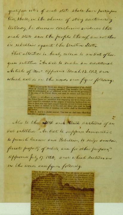 emancipation papers ny