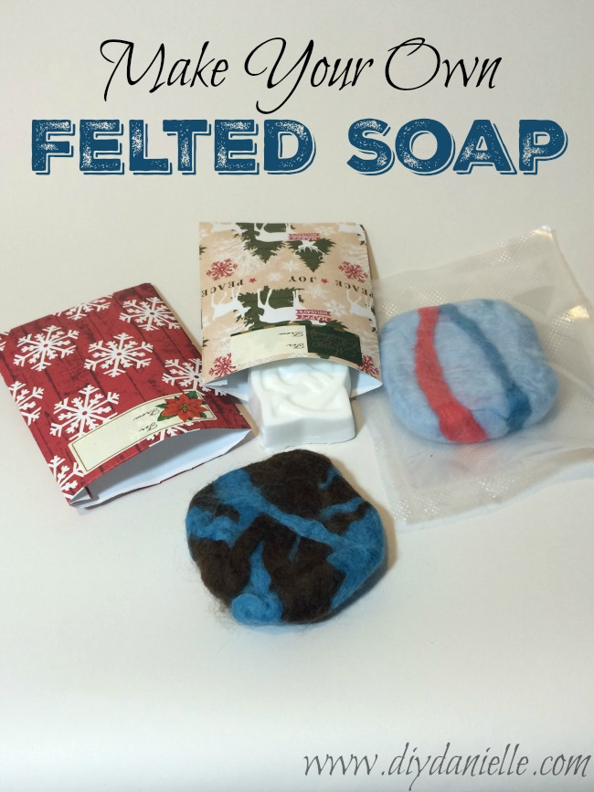 Quick and Easy Soap Felting.