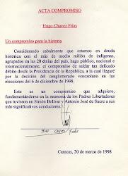 ACTA DE COMPROMISO CON LOS PUEBLOS INDIGENAS DE VENEZUELA