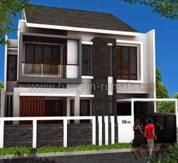 Desain Rumah Minimalis Ukuran Tanah 10 x 15 Meter