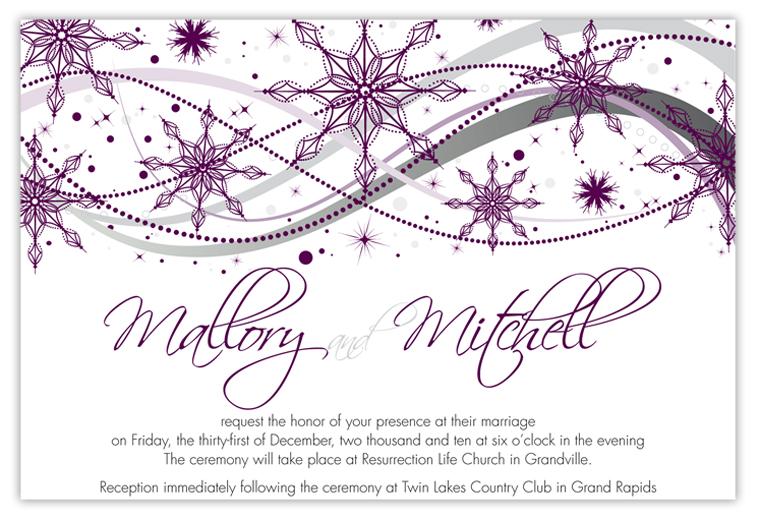 invitation of Wedding Party