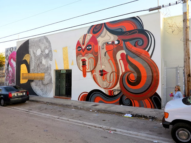 Street Art By Reka And 2501 In Wynwood, Miami For Art Basel 2013. 1
