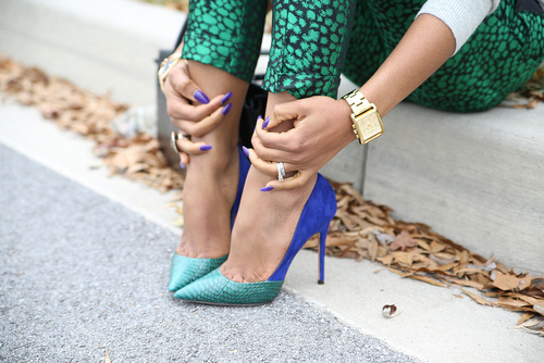 Flash post :Passion For Shoes!