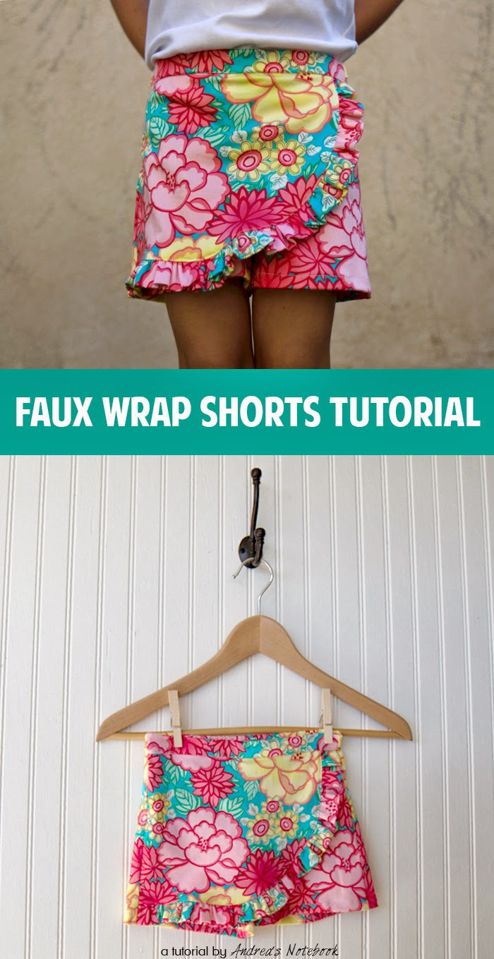 Tutorial for Wrap shorts