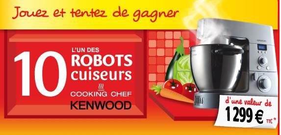 10 robots de cuisine multifonctions Kenwood