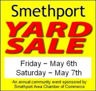 5-6/7 Smethport Yard Sale