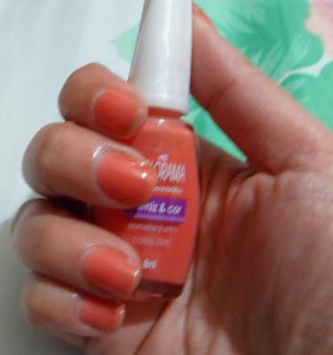 esmalte colorama coral chic