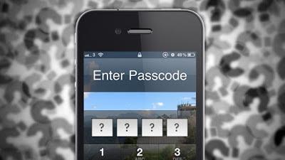 طريقة تخطي القفل في الآيفون   Bypass iPhone Passcode