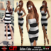 BONETTO STYLE - ZEBRA CUTE DRESS