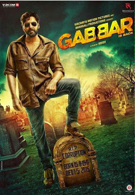 Gabbar is Back 2015 720p DVDScr 1GB