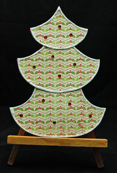 Authentique Chistmas Tree Cards @craftsavvy #craftwarehouse #authentique #christmas #cards #diy