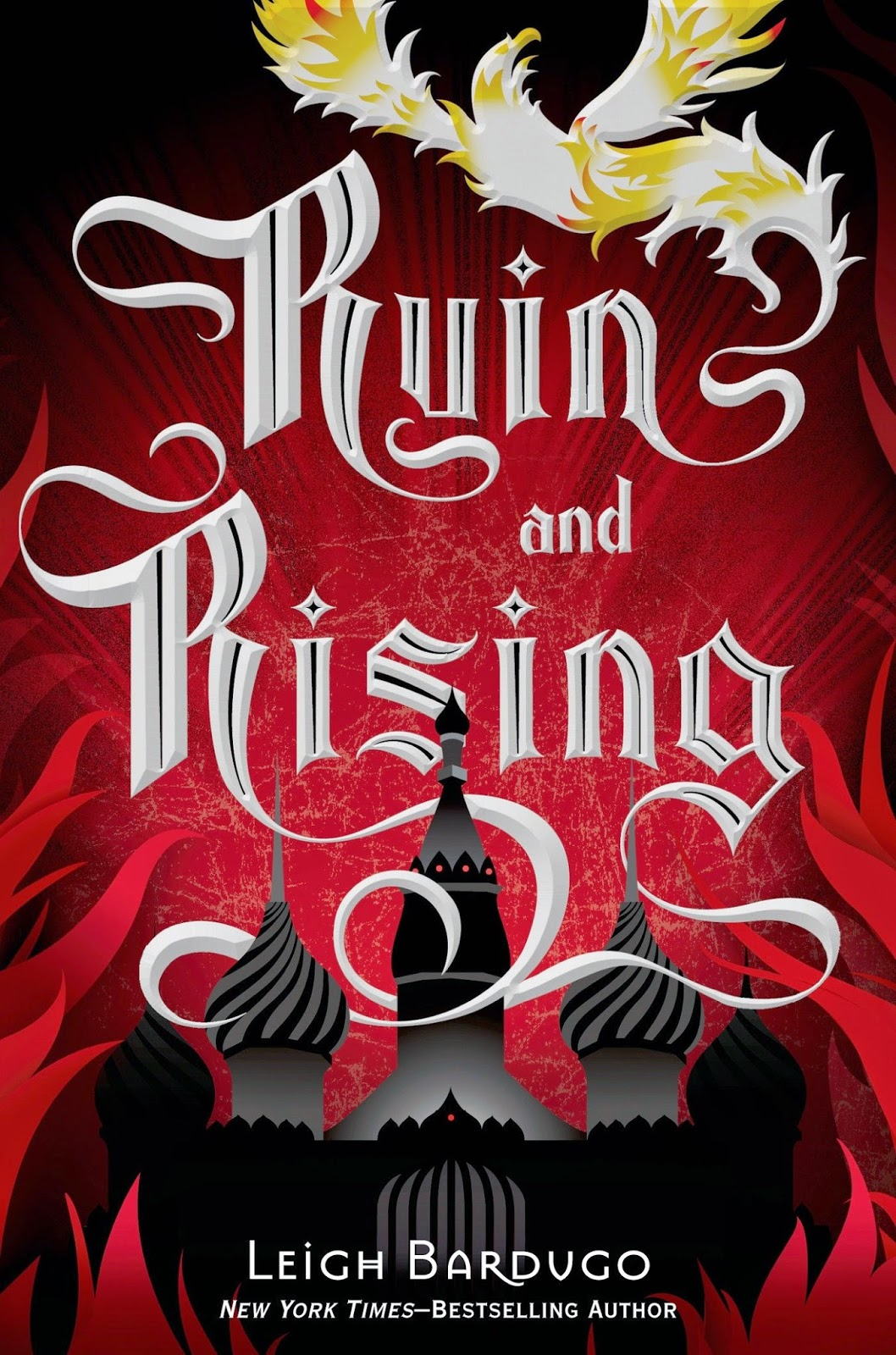 the book cover of Ruin and Rising by Leigh Bardugo