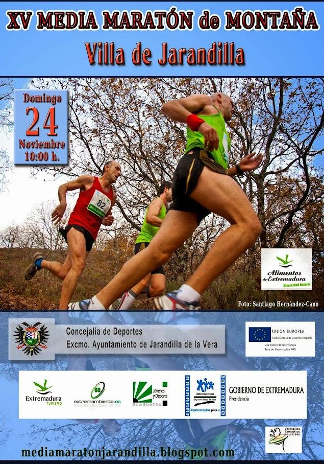 "XV Media Maratón de Montaña ""Villa de Jarandilla"""