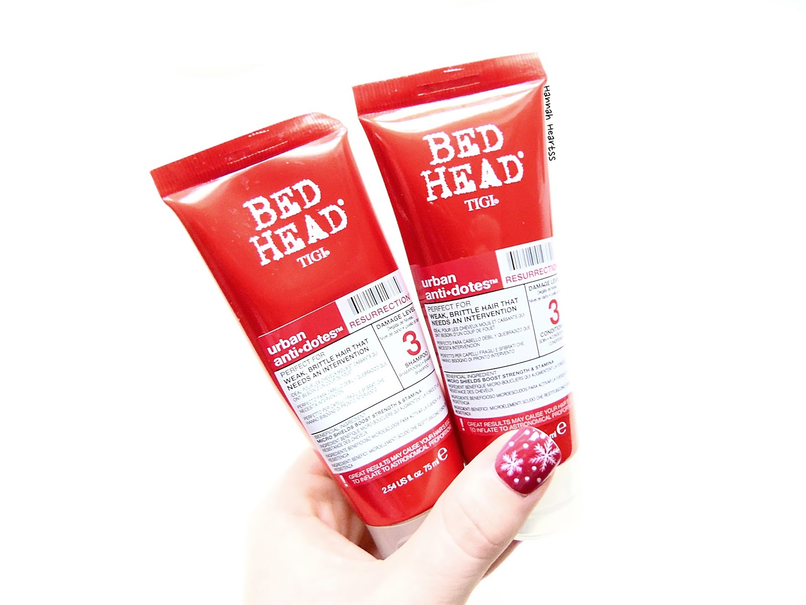 Bedhead Resurrection Shampoo & Conditioner