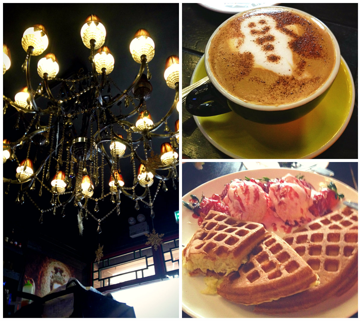 yiweilim, yi wei lim, yiwei lim, yiwei lim blog, take a break cafe, take a break cafe prince edward, strawberry waffles, waffles, latte, gingerbread latte, prince edward, hong kong, kowloon