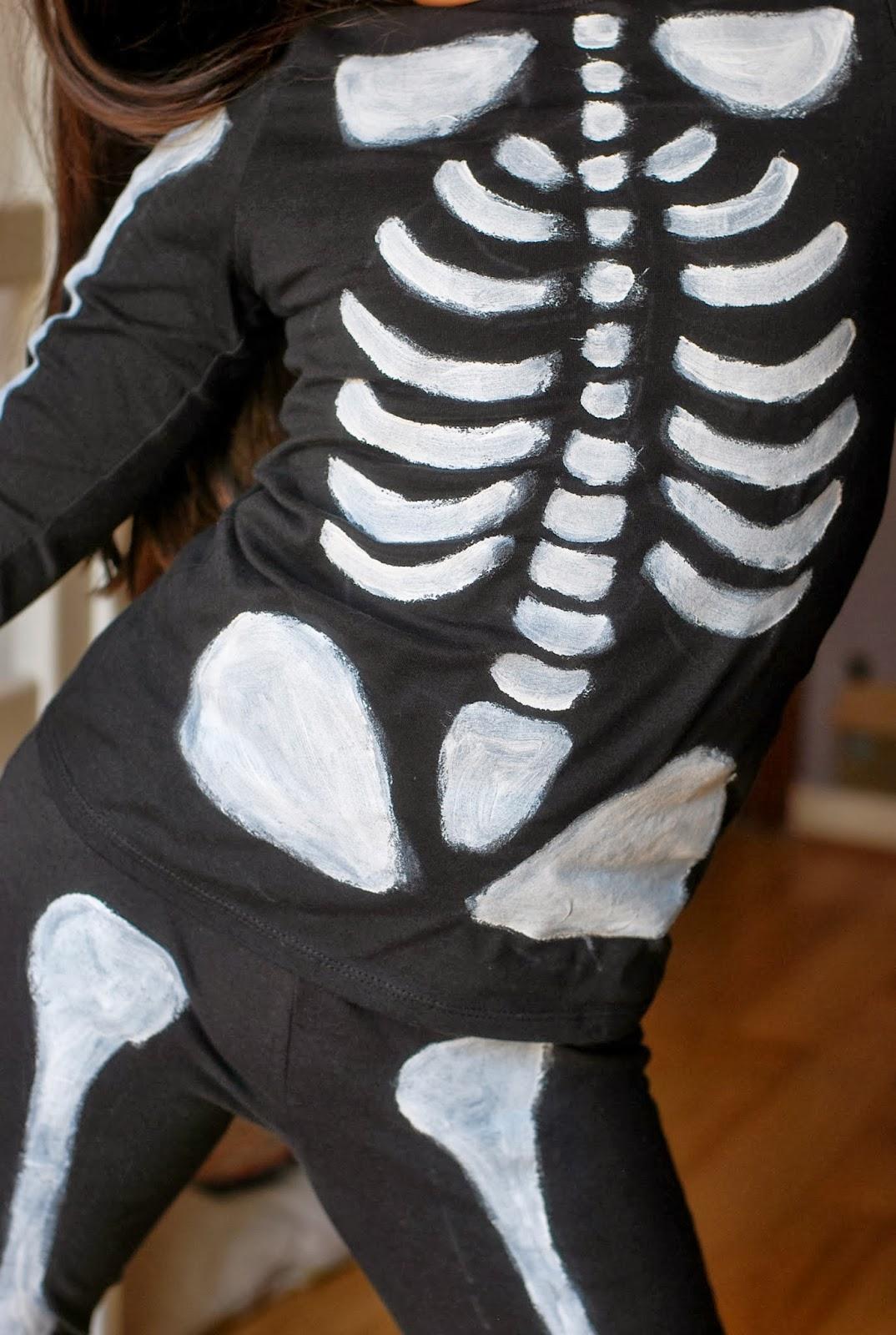 le grand bazaar diy d guisement squelette tuto inside quoi a faisait longtemps. Black Bedroom Furniture Sets. Home Design Ideas