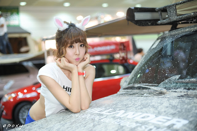 1 Choi Byeol Yee at Korea Autocamping Show 20-very cute asian girl-girlcute4u.blogspot.com
