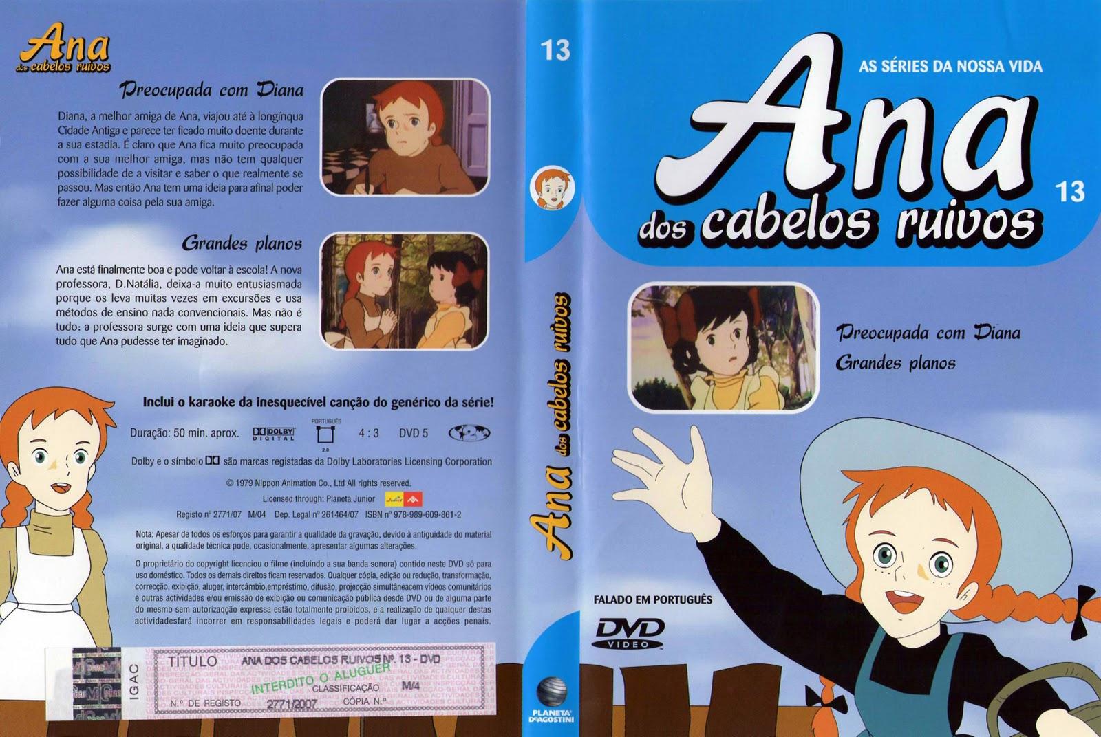 Ana dos Cabelos Ruivos Vol.1 A 25  PT-PT Ana+dos+Cabelos+Ruivos+Vol+13-capa