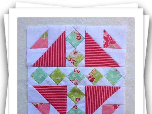 Chatelaine- Free BOW Sampler Quilt Block 35