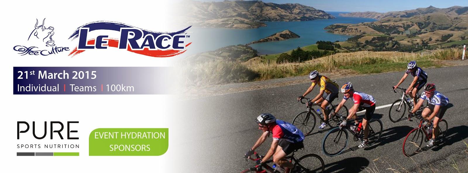 Le Race, Christchurch