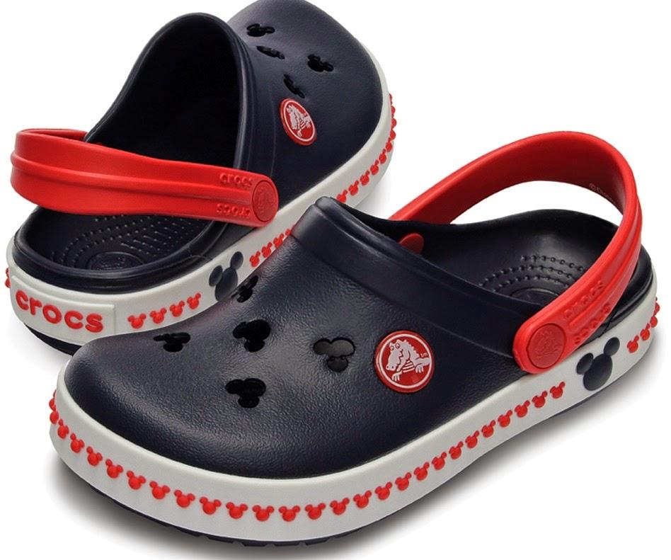 Crocs em Orlando Mickey