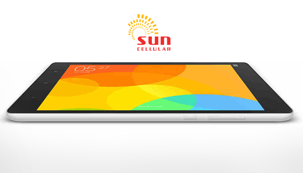 Sun cellular offers the xiaomi mi pad in a post paid plan for Sun mobile plan