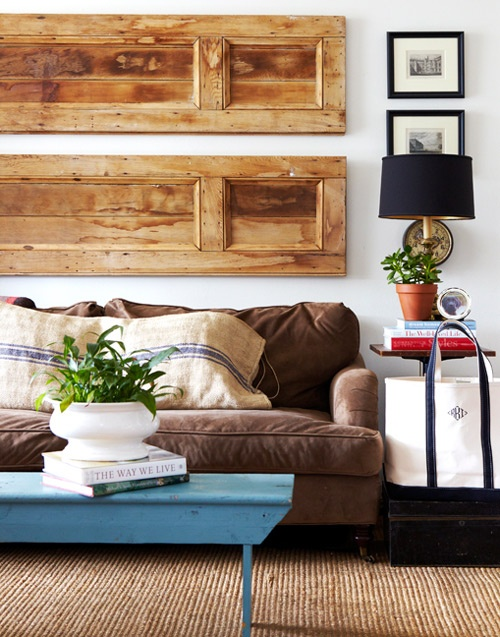 Auction Decorating: Decorating with doors!