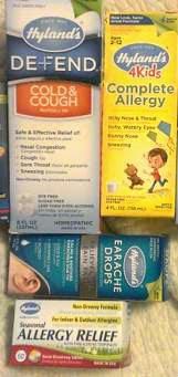 hylands allergy pack
