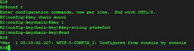 konfigurasi key chain, key dan key string pada R2