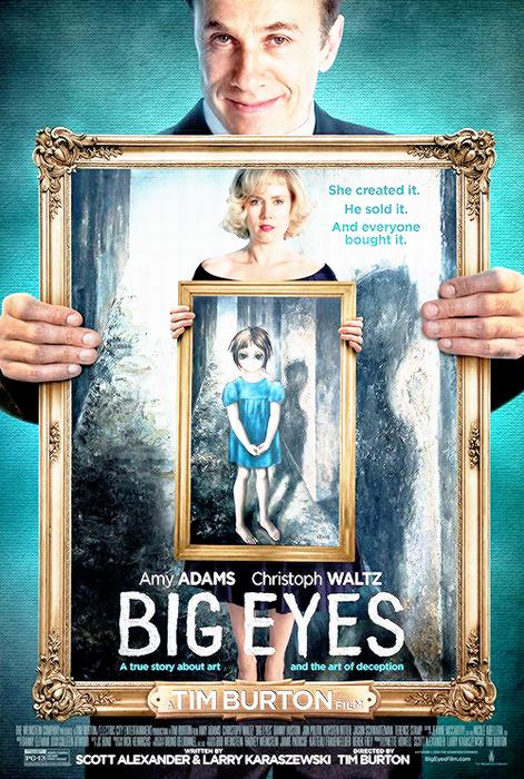 Big Eyes (2014) Poster