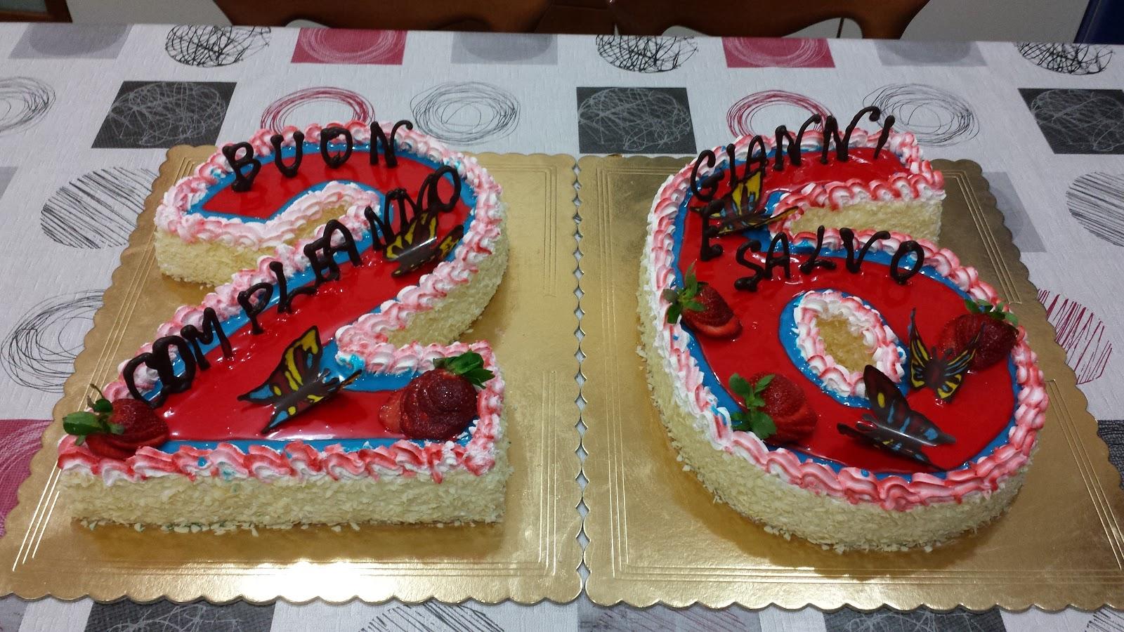 Passione Torte Torta A Numero 26 Per Compleanno