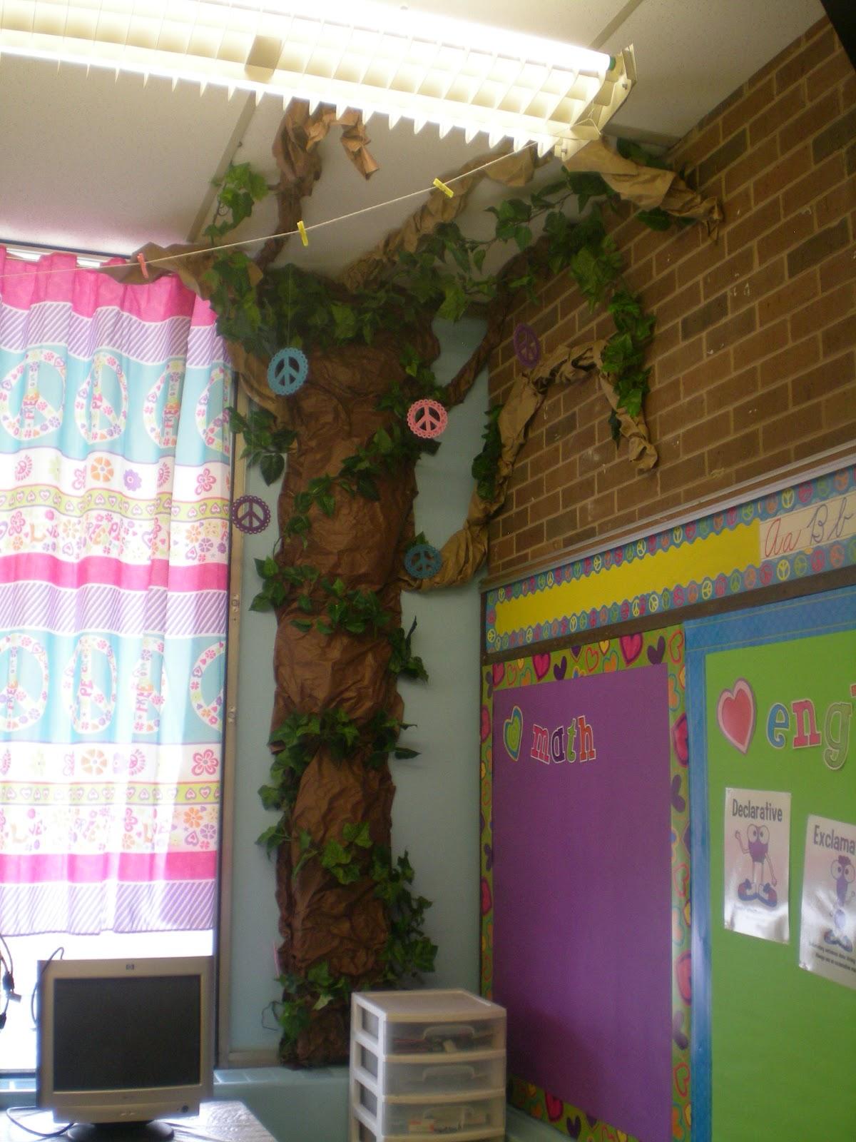 Classroom Decoration Trees : Third grade love a classroom tour monday made it