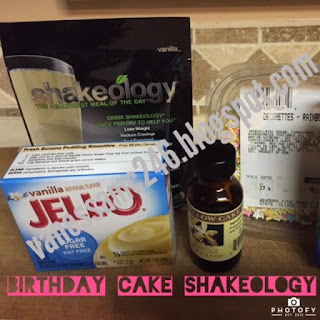 Birthday Cake Shakeology, cake protein shake, birthday cake shake, cake batter shake, healthy birthday, dessert, treat, Birthday Cake Shakeology Recipe