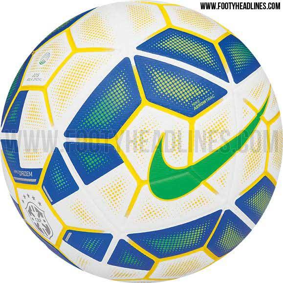 Nueva pelota Nike del Brasileirao para el 2015