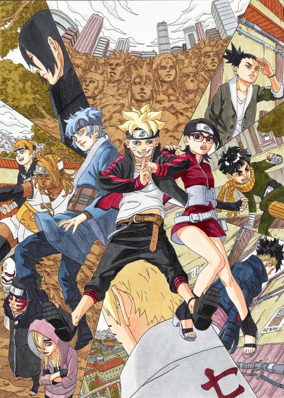 Nuevo manga de BORUTO para el 2016