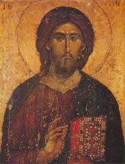 Ícono de Jesucristo Salvador