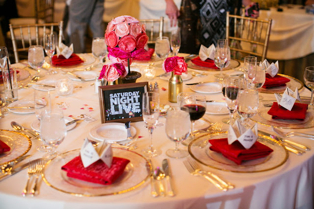 Disneyland Wedding - Grand Californian Hotel - Reception Decor {Root Photography}