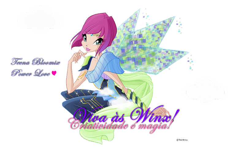 Viva às Winx! Criatividade é Magia!