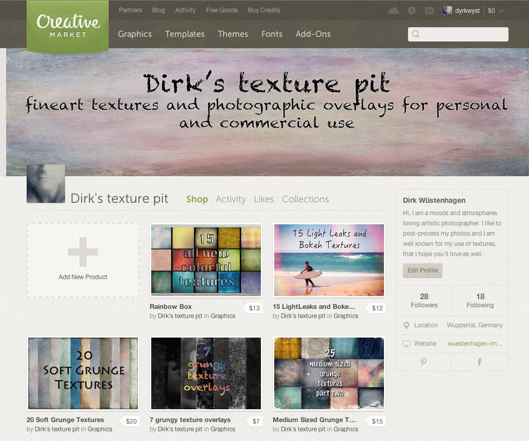 Dirk's Texture Pit