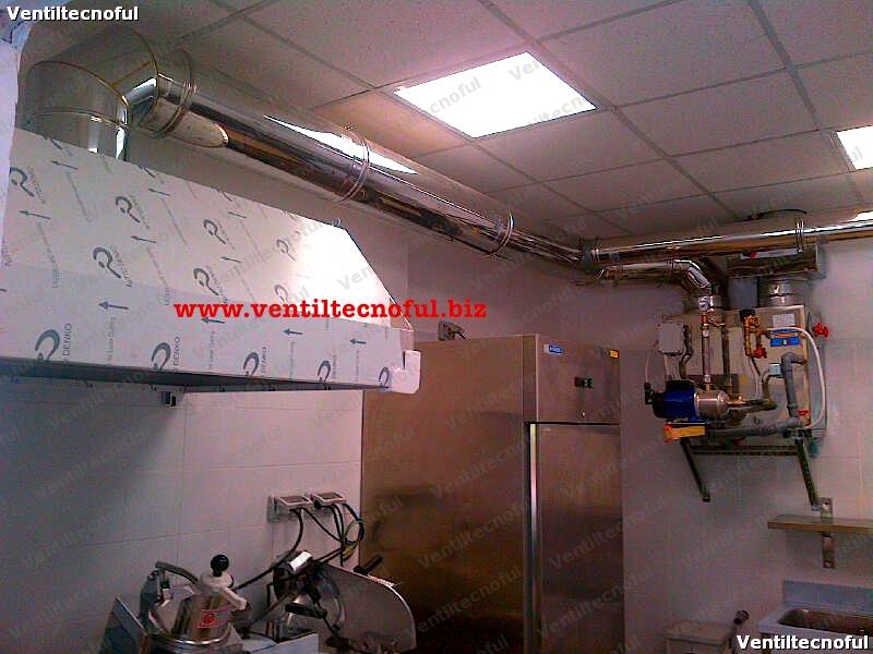 Smokeoff sistema di depurazione aspirazione cappe ristorazione - Cappa cucina senza canna fumaria ...