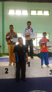 Wushu OKI Raih Medali Emas
