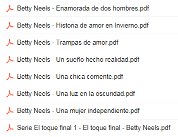Descargar Novelas De  Betty Neels  En PDF