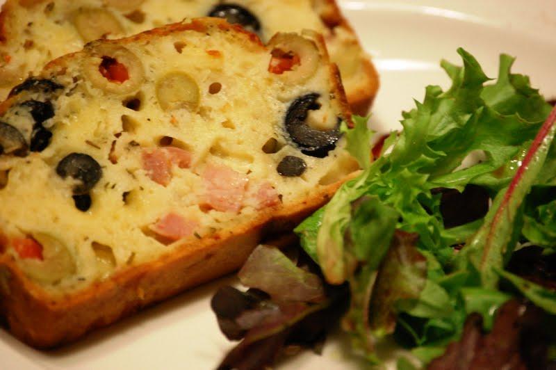 Cake aux olives ricardo