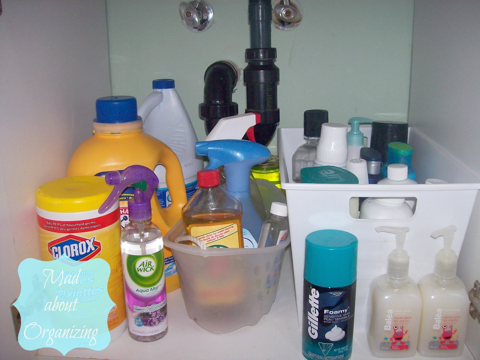How to Organize a Small Bathroom Under Sink Cabinet