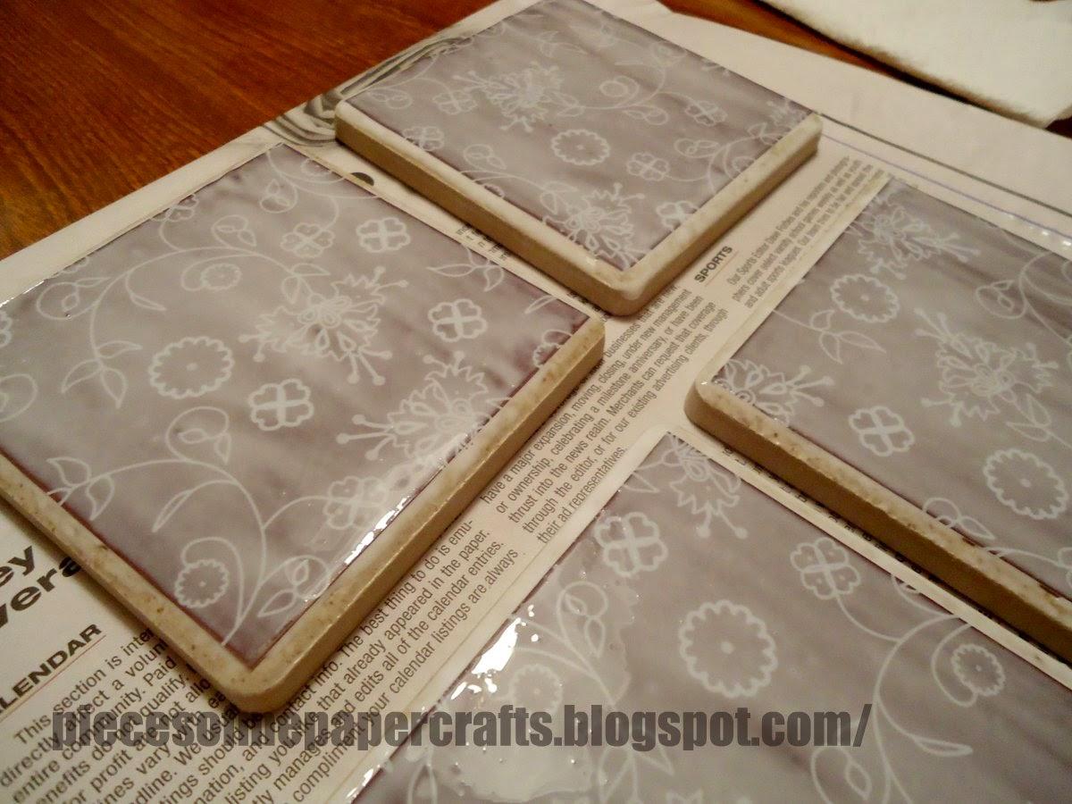 Pieces Of Me Scrapbooking Paper Crafts Tutorial Diy Ceramic Tile
