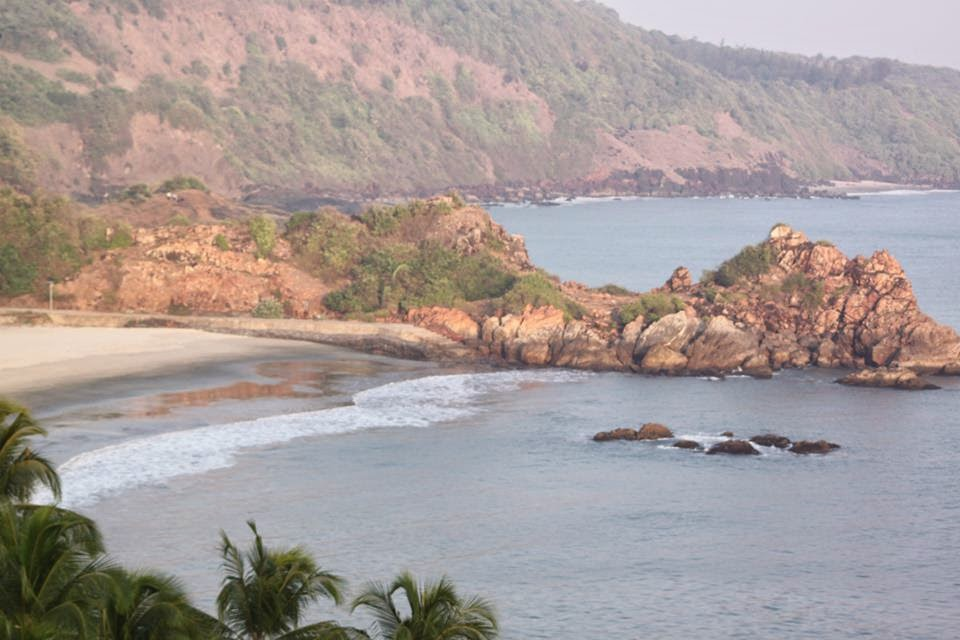 Nivati Beach from Nivati Fort