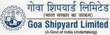 Goa Shipyard Recruitment 2014 Senior, Dy Managers, Asst Managers, Management Trainees – 14 Posts