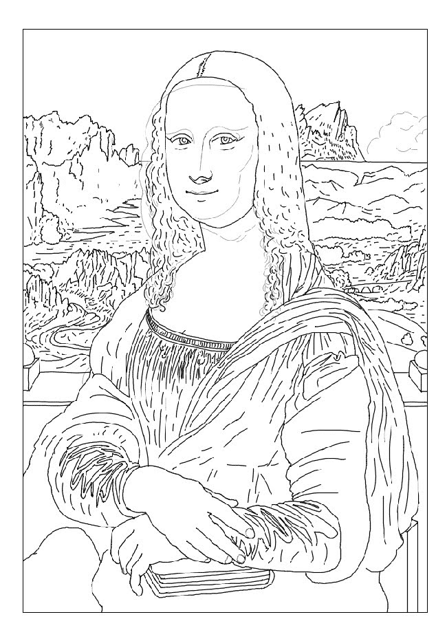 How To Draw The Mona Lisa Book Covers