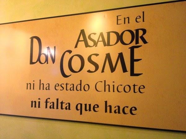 Asador Don Cosme