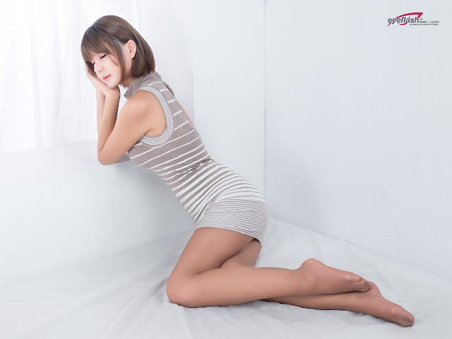 1 Ryu Ji Hye in Mini Dress-very cute asian girl-girlcute4u.blogspot.com